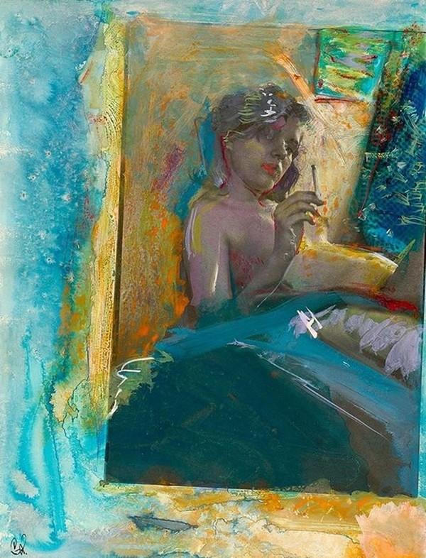 Exposition Art Blog: Saul Leiter - Painted Photographs