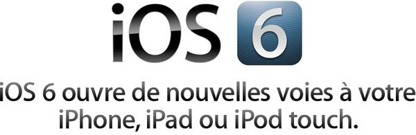 Apple - Aperçu d'iOS 6