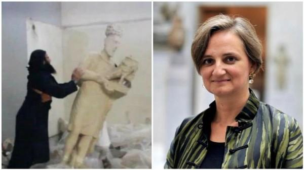 Statues détruites par Daech: une «tragédie» pour les scientifiques