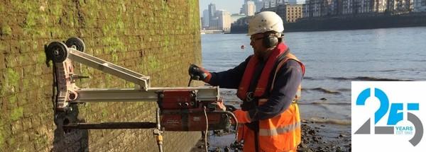Concrete cutting, Diamond cutters uk, Concrete drilling services