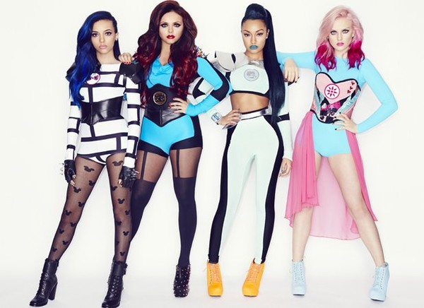 Little Mix channel their inner superheroes in new pictures!