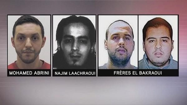 Attentats de Paris : quatre hommes recherchés