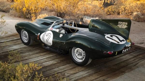 The amazing 1954 Jaguar D-Type race car goes up for auction!