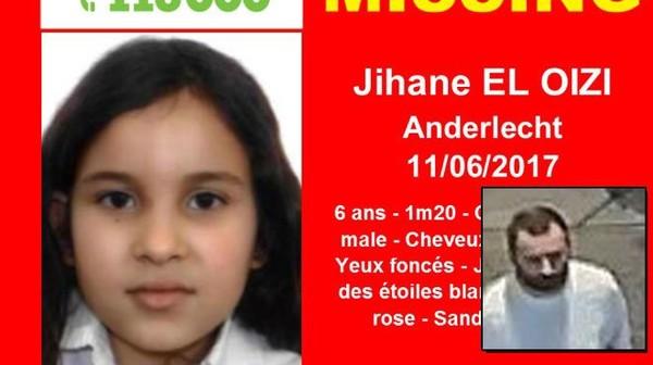 Disparition inquiétante de Jihane El Oizi, 6 ans à Anderlecht: Avez...