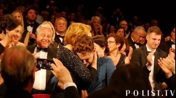EXCLUSIVITÉ: L'ovation debout pour Xavier Dolan – MOMMY - Cannes 2014