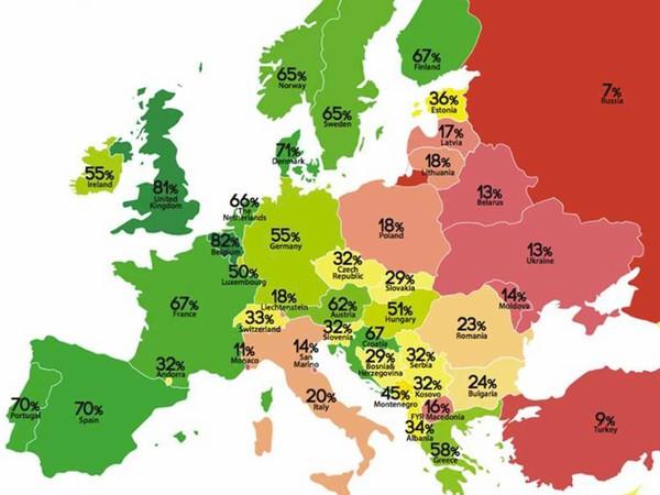 Rainbow Map 2016 : la France s'améliore mais peut faire mieux