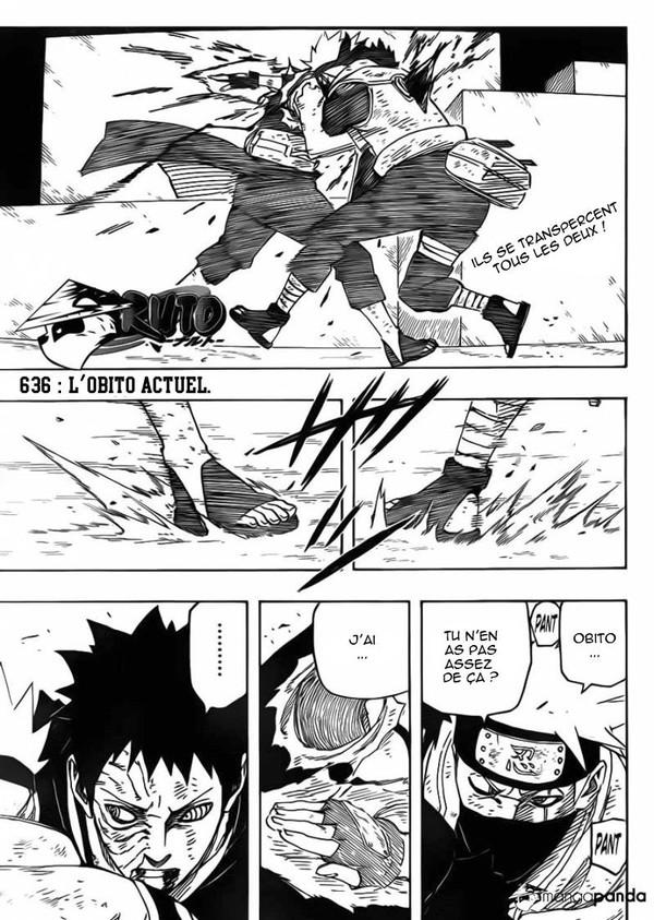 Naruto • Lecture en ligne du chapitre 636 - L'Obito actuel
