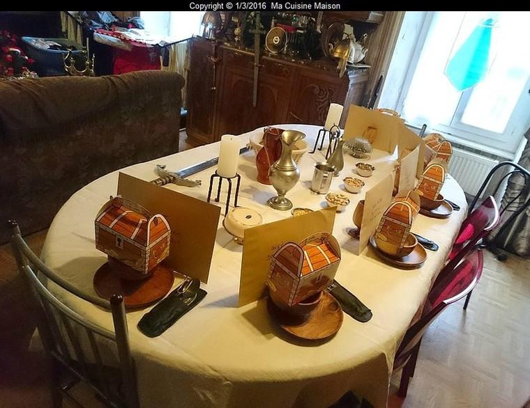 REVEILLON DE LA SAINT-SYLVESTRE 2015 (Banquet médiéval dans le 12ème siècle) - Ma Cuisine Maison