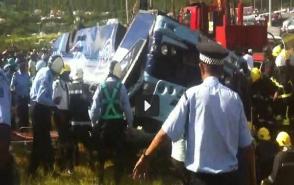"""Maurice : Le receveur du """"bus fou"""" de Sorèze déclare à la police que les freins étaient défectueux depuis le 13 décembre 2012"""