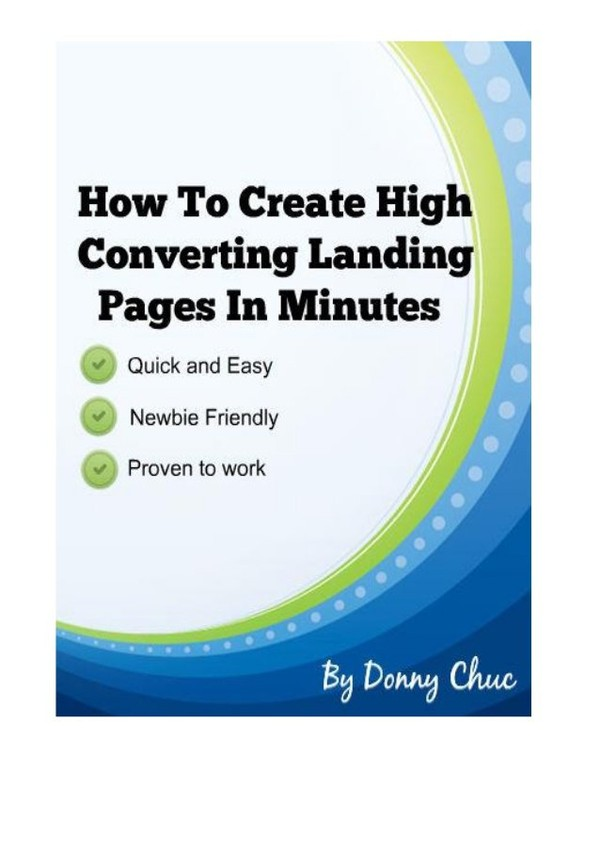 How To Create High Converting Landing Squeeze Pages