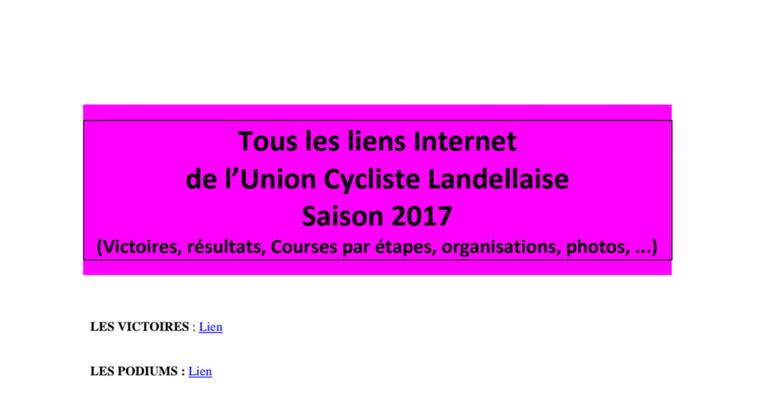 Tous les liens internet des activités UCL 2017.pdf