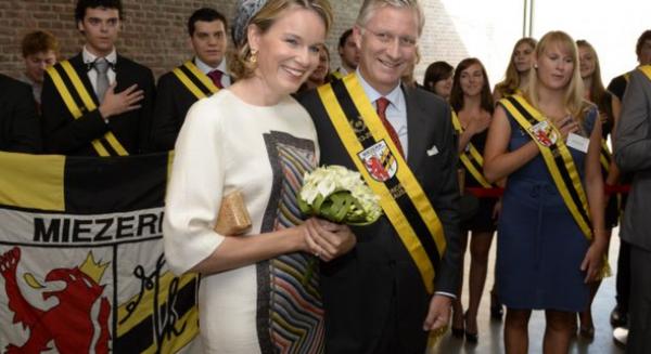 La Joyeuse Entrée du couple royal ce mercredi à Namur - RTBF Regions