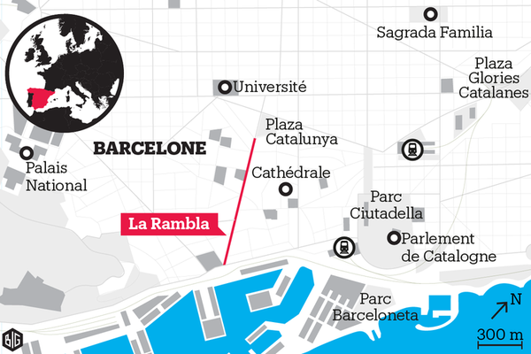Attentat à Barcelone : ce que l'on sait