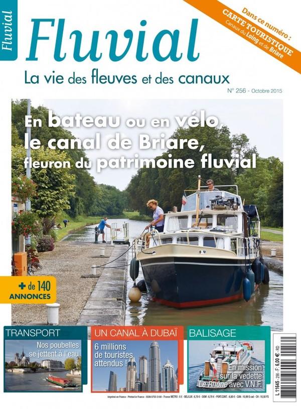 Revue Fluvial Vient de paraître Fluvial 256 - Découvrez vite en kiosque notre numéro d'octobre