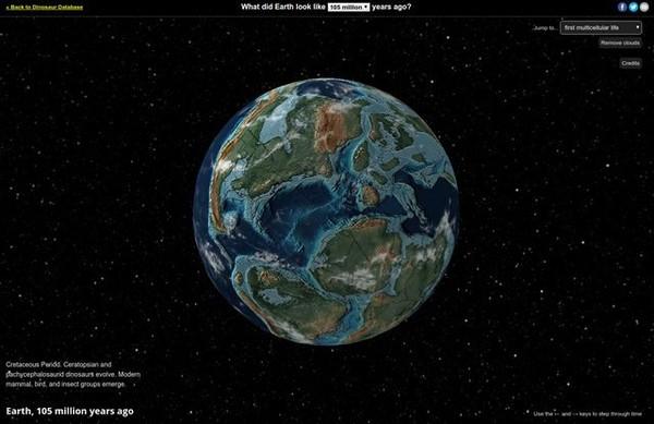 Dacentrurus on Ancient Earth globe