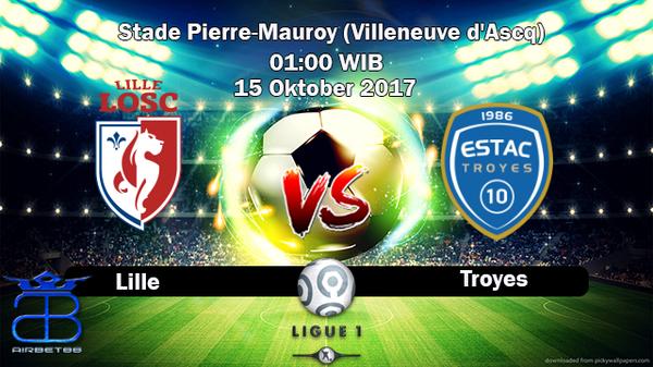 Prediksi Lille VS Troyes 15 Oktober 2017   Prediksiskorbolajitu  