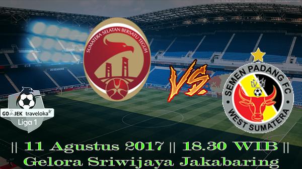 Prediksi Sriwijaya vs Semen Padang 11 Agustus 2017 Liga 1 Indonesia