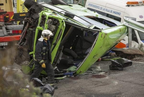Treize blessés de l'accident de bus seront rapatriés en Suisse