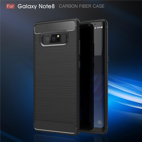 Aliexpress.com : Buy For Samsung Note8 Case Luxury Carbon Fiber Brushed Wire Drawing Silicone TPU Back Cover for Samsung Galaxy Note 8 FREE SHIPPING from Reliable for samsung galaxy suppliers on GU...