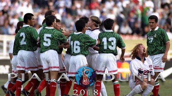 Meksiko dan Amerika Serikat Rival Bersaudara Abadi – Piala Dunia 2018